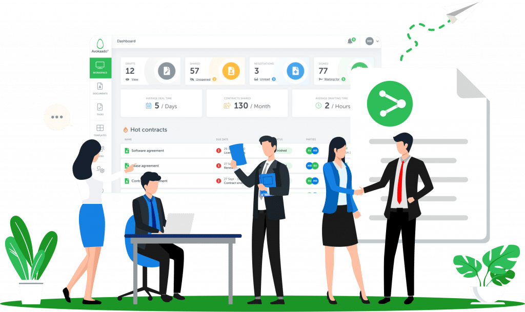 manage people and contracts with ease