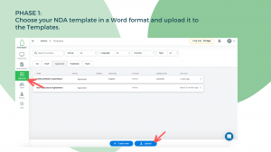 Contract Automation: NDA Example - Step 1
