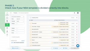 Contract Automation: NDA Example - Step 2