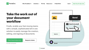 Free contract management software — PandaDoc