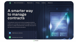 Free contract management software — Contractbook