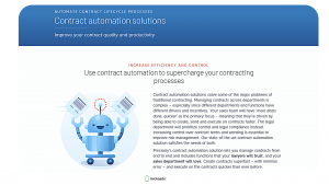 Free contract management software — Precisely